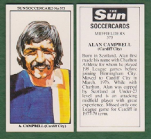 Cardiff City Alan Campbell